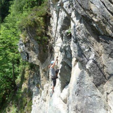 Pfeilspitzwand & Zimmereben – Klettersteig