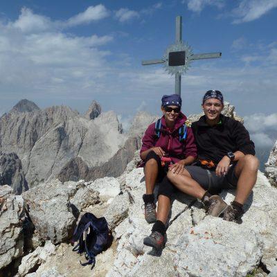 Gipfel d. Piz Duleda (2909)