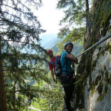 Klettersteig Nasenwand