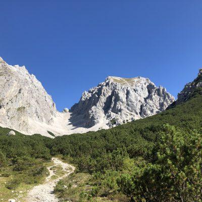 Wankspitze – Klettersteig